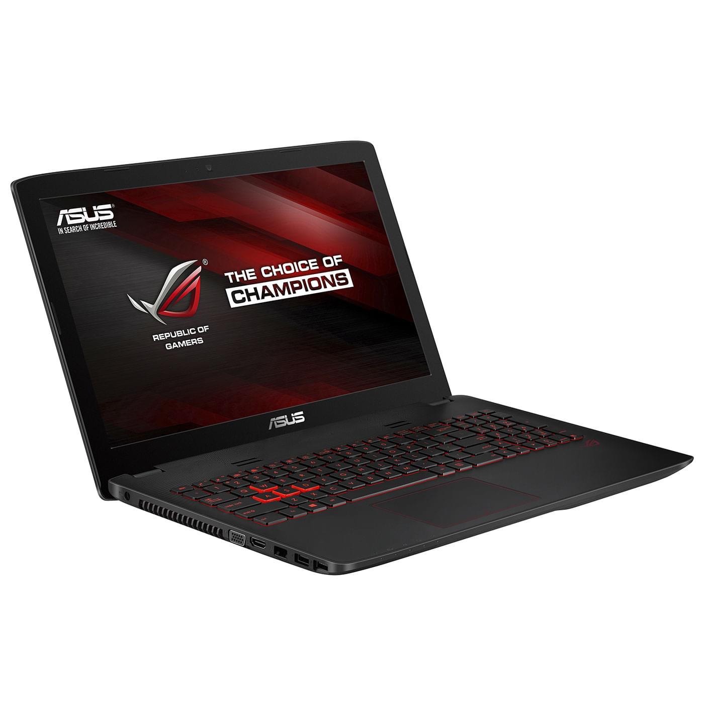 Asus GL552JX-DM220H (GL552JX-DM220H) - Achat / Vente PC portable sur Cybertek.fr - 0