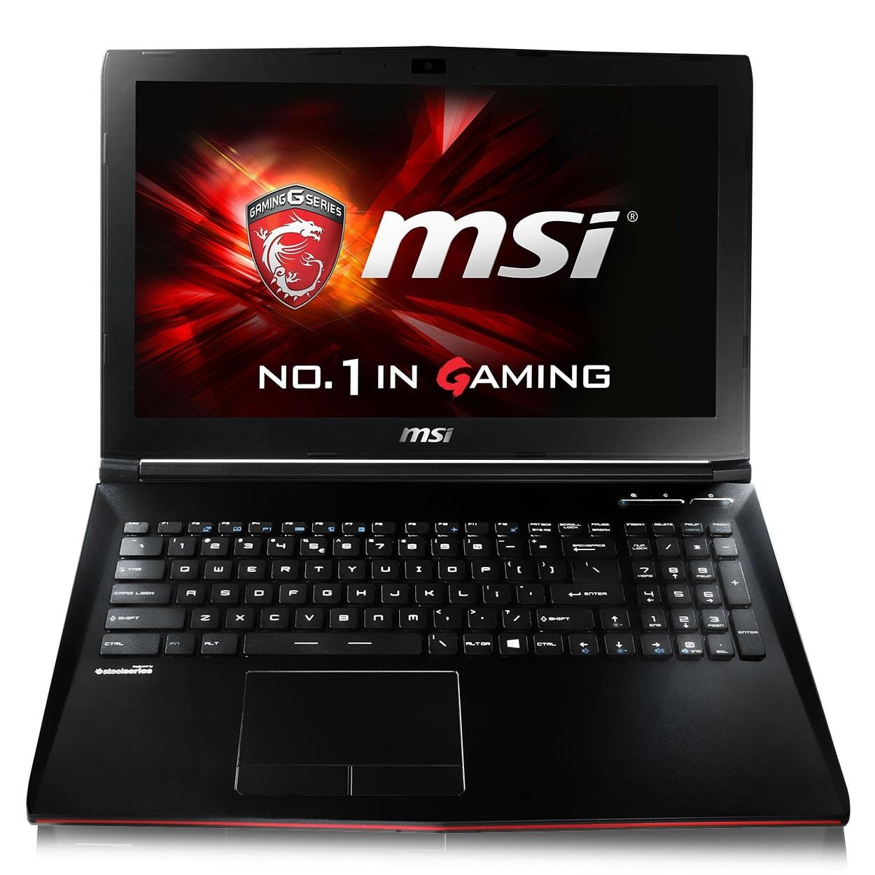 MSI GP62 6QF(LEOPARD PRO)-608FR (9S7-16J522-608) - Achat / Vente PC Portable sur Cybertek.fr - 2