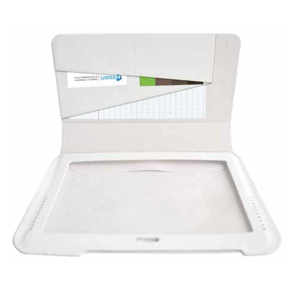 """Heden Housse Slim Blanche Galaxy Tab 2 / Note 10.1"""" (ACCHSS10CW soldé) - Achat / Vente Accessoire Tablette sur Cybertek.fr - 0"""
