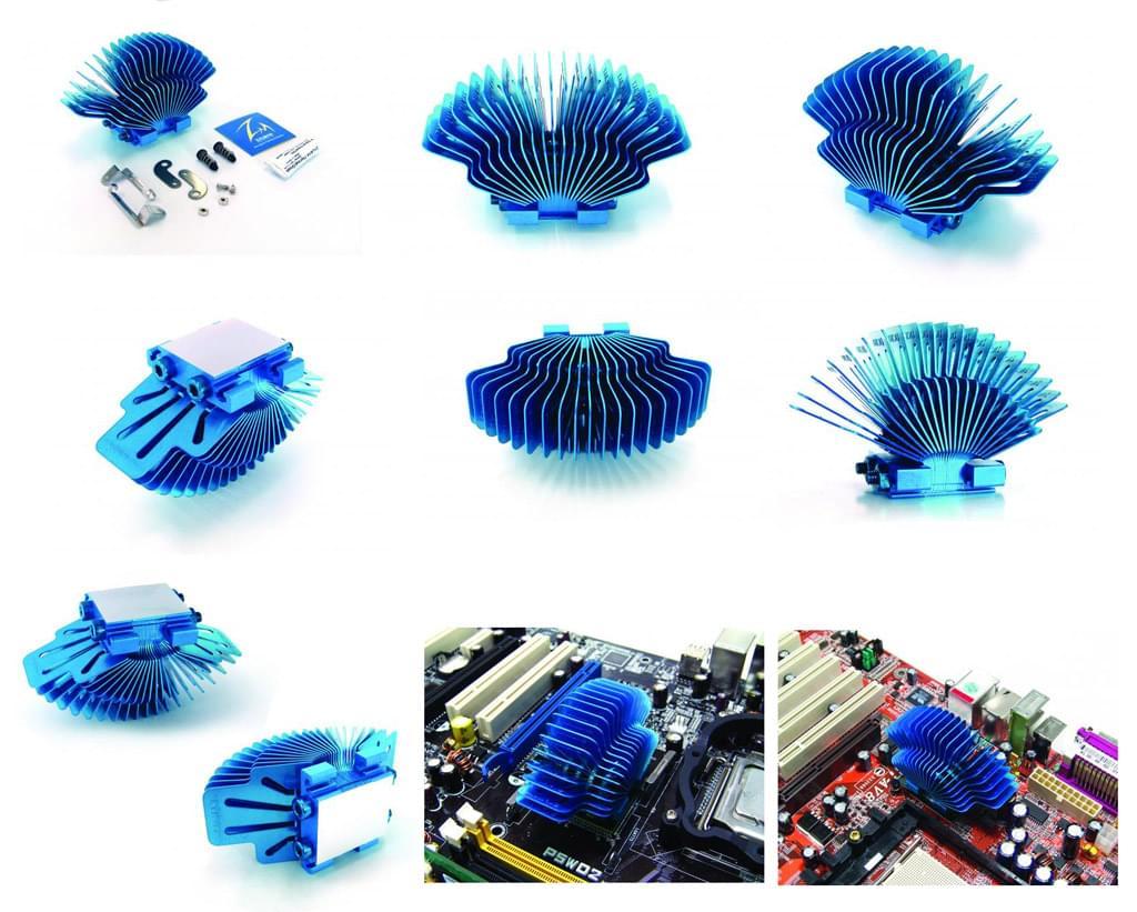 Zalman ZM-NBF47 pour chipset (ZM-NBF47) - Achat / Vente Ventilateur sur Cybertek.fr - 0