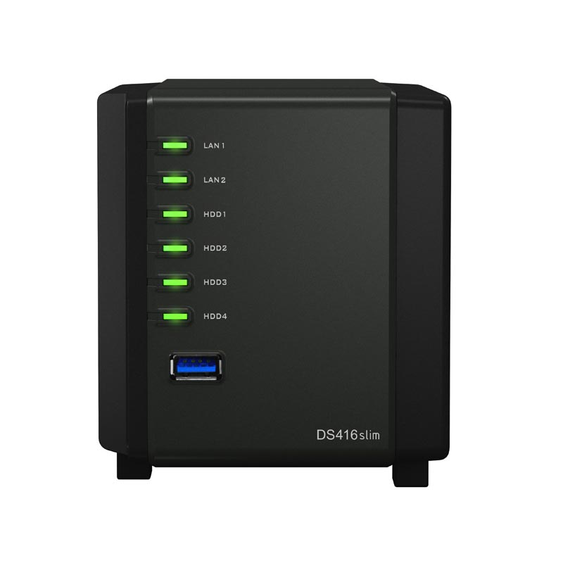 Synology DS416Slim - 4 HDD - Serveur NAS Synology - Cybertek.fr - 3