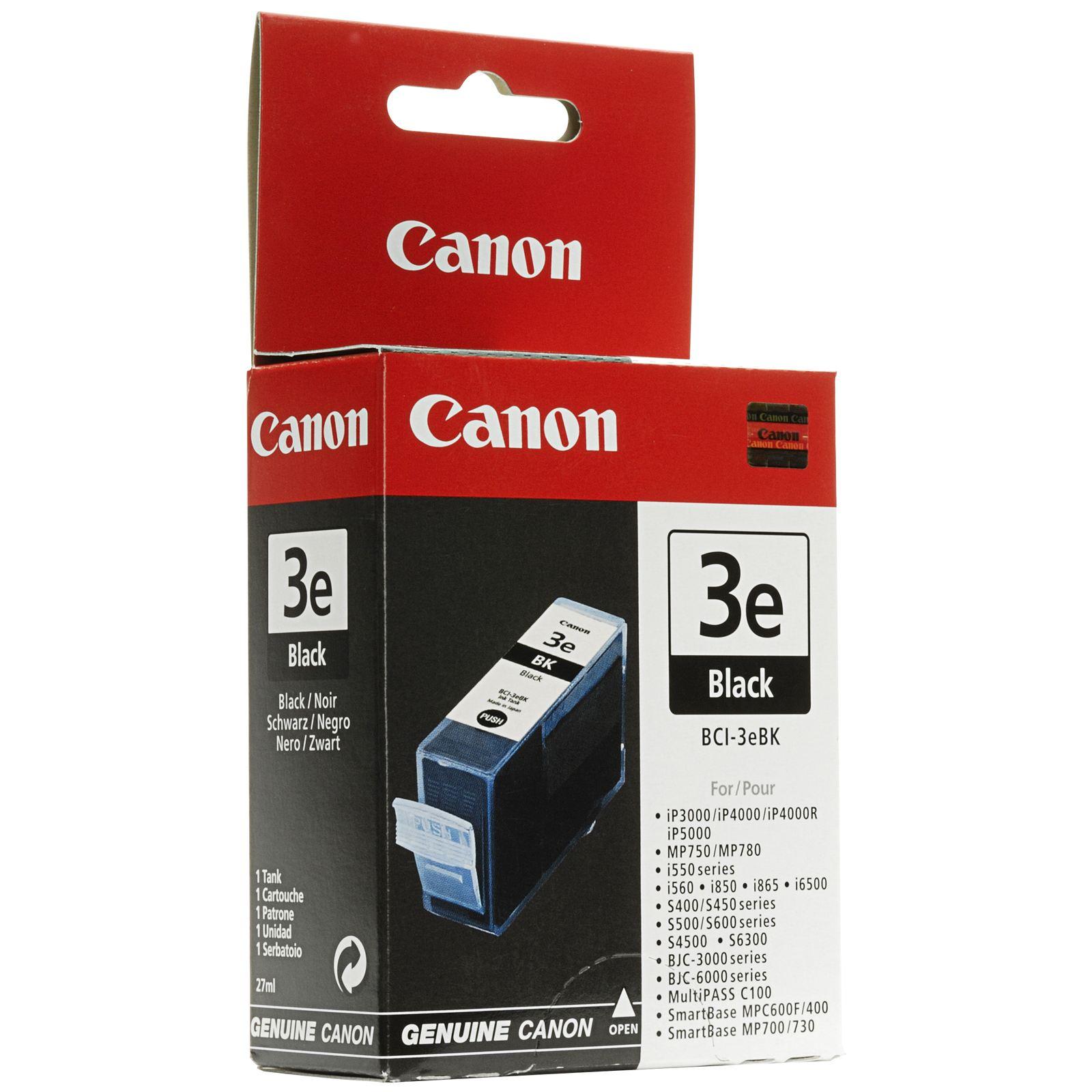 Canon Cartouche BCI 3 E Noir (4479A002) - Achat / Vente Consommable Imprimante sur Cybertek.fr - 0