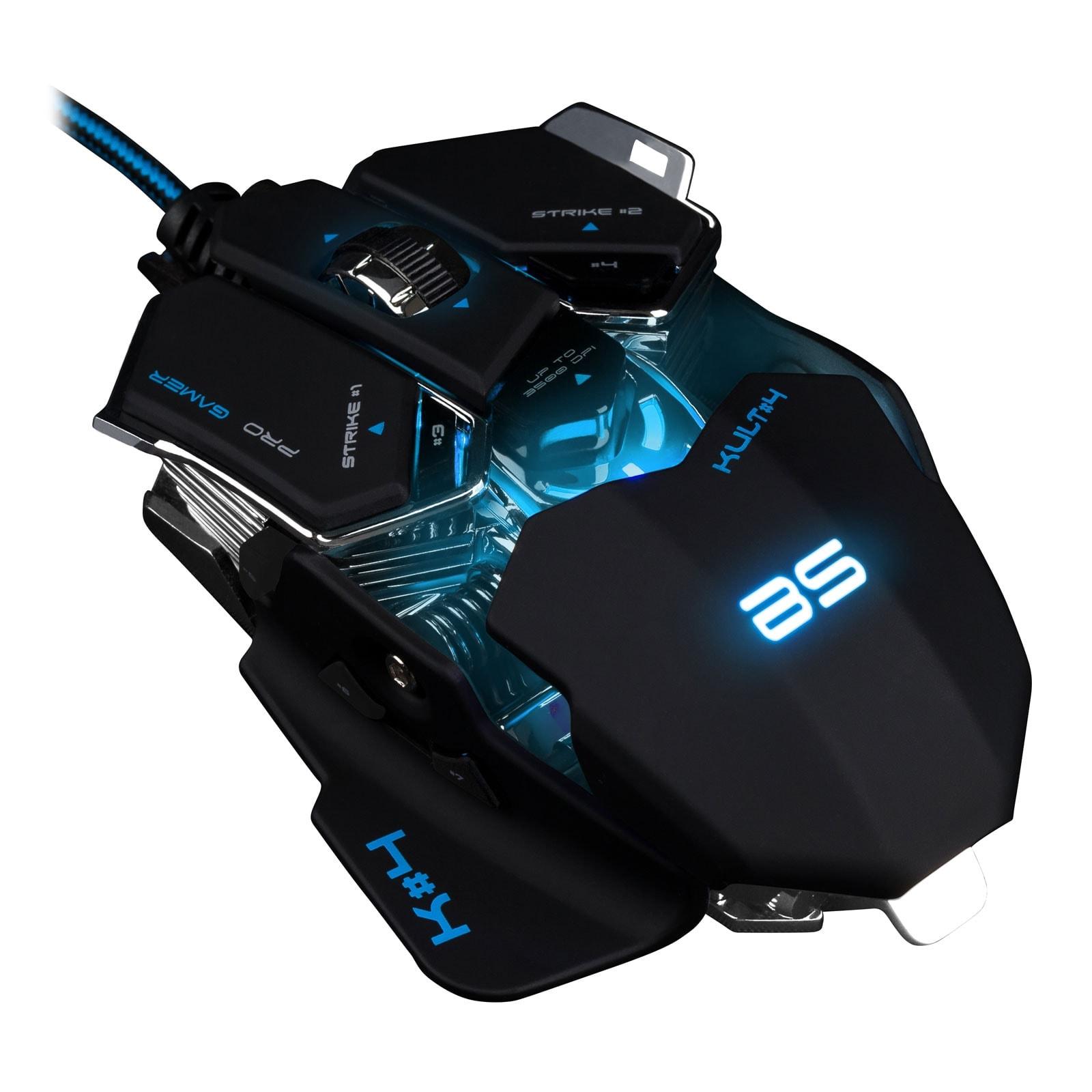 Bluestork KULT 4 BLACK ED. (BS-GM-KULT4) - Achat / Vente Souris PC sur Cybertek.fr - 1