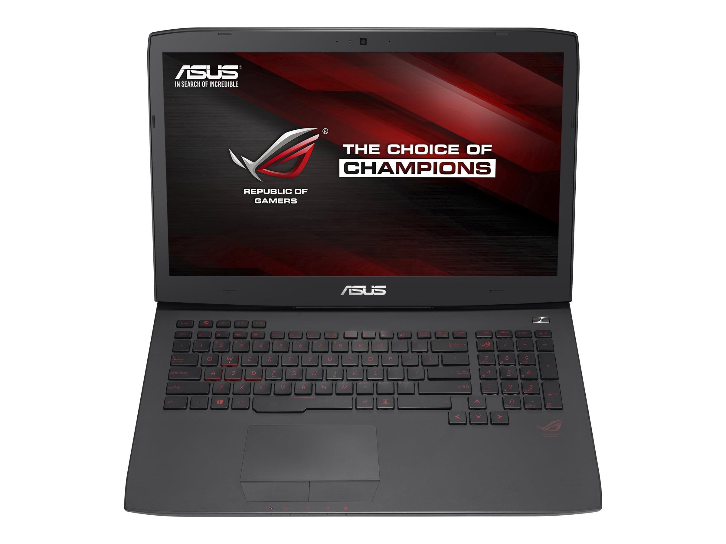 Asus ROG G751JY-T7315T  (90NB06F1-M05450) - Achat / Vente PC portable sur Cybertek.fr - 0