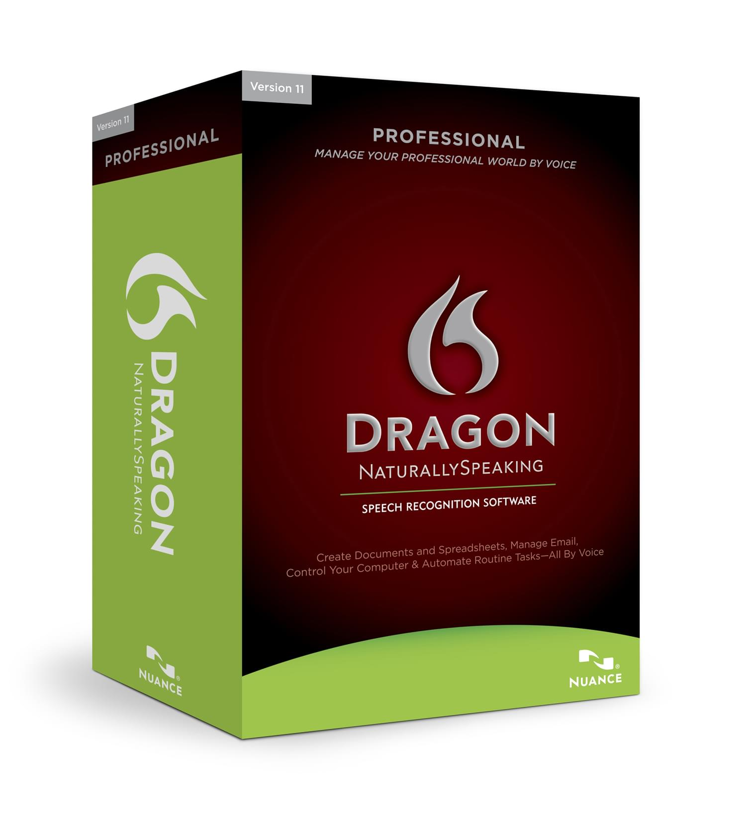 Nuance Dragon Naturally Speaking Professional (A209F-X00-11.5) - Achat / Vente Logiciel application sur Cybertek.fr - 0