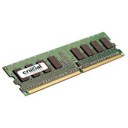 Crucial Mémoire PC CT25664AA800 (2Go DDR2 800 PC6400) Cybertek