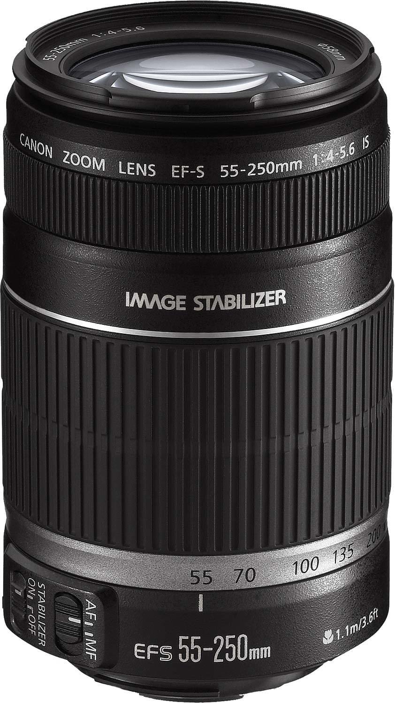 Canon Objectif EF-S 55-250mm/F4.5-5.6 IS - Achat / Vente Access. Audio-Photo-Vidéo sur Cybertek.fr - 0