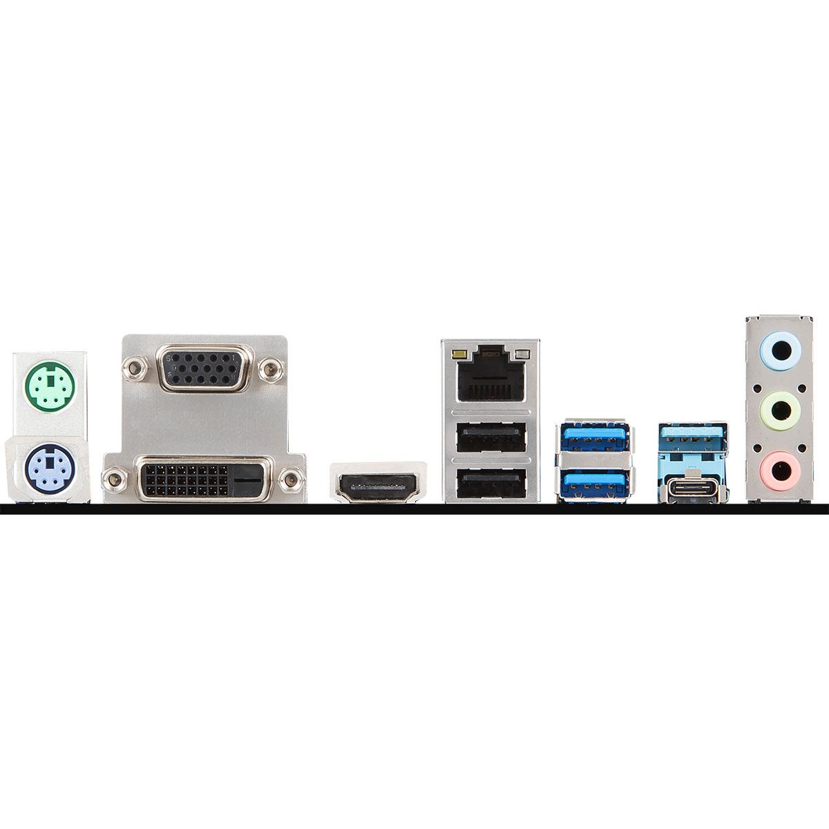 MSI B360M PRO-VDH Micro-ATX DDR4 - Carte mère MSI - Cybertek.fr - 1