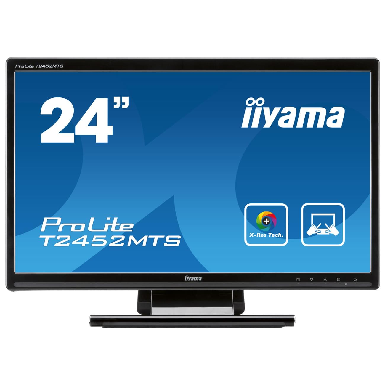 Iiyama T2452MTS-B1 (T2452MTS-B1) - Achat / Vente Ecran PC sur Cybertek.fr - 0