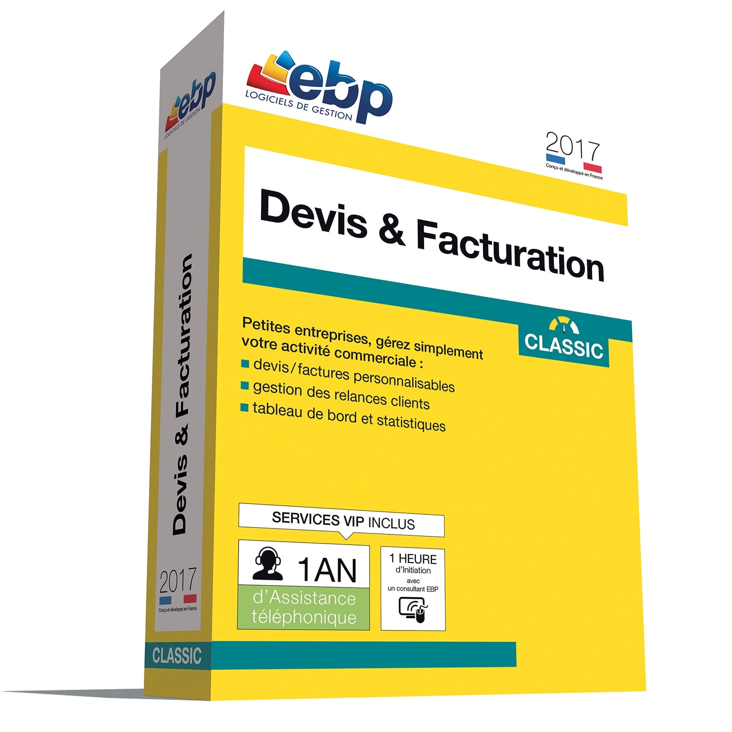 EBP Devis & Facturation Classic 2017 VIP +Satis./remb. - Logiciel application - 0
