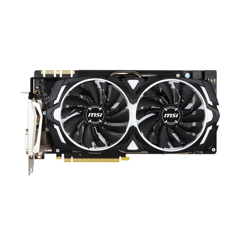 MSI GeForce GTX 1080 ARMOR 8G OC (912-V336-004) - Achat / Vente Carte Graphique sur Cybertek.fr - 1