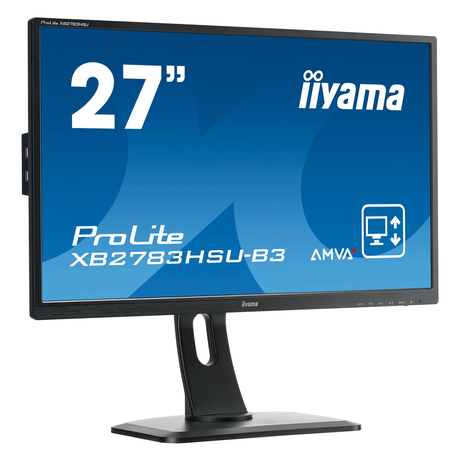 """Iiyama 27""""  XB2783HSU-B3 - Ecran PC Iiyama - Cybertek.fr - 0"""
