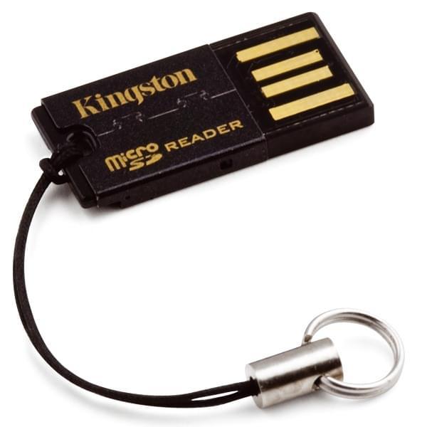Kingston FCR-MRG2 Lecteur microSD/microSDHC USB 2.0 (FCR-MRG2) - Achat / Vente Lecteur carte mémoire sur Cybertek.fr - 0