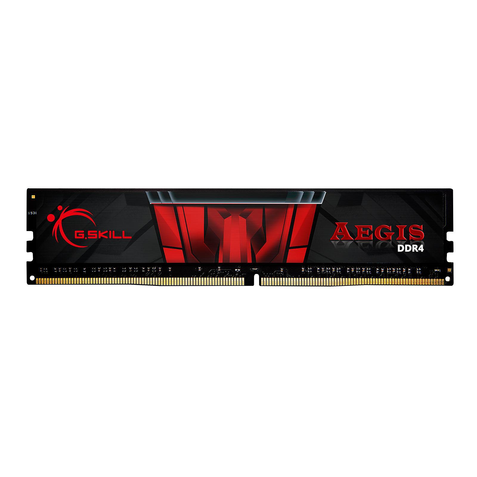 G.Skill Aegis  (8Go DDR4 3000 PC24000) - Mémoire PC G.Skill sur Cybertek.fr - 1