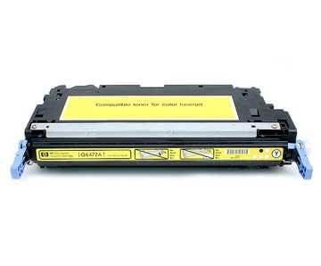 Consommable imprimante HP Toner Yellow 8000p - C9722A