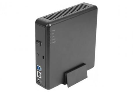 """No Name NAS RJ45/USB3 10/100/1000 pour 1x3.5"""" SATA (318600) - Achat / Vente Boîtier externe sur Cybertek.fr - 0"""