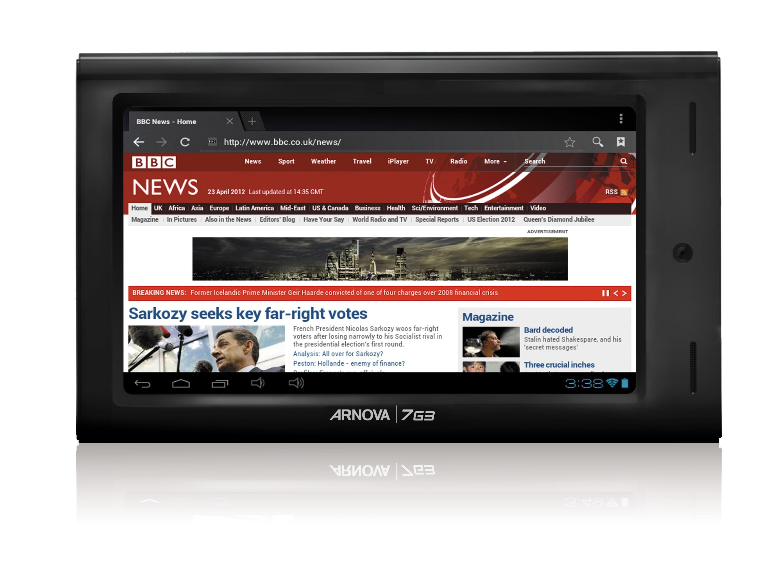 Archos Arnova 7 G3 4GB (502080 soldé) - Achat / Vente Tablette tactile sur Cybertek.fr - 0