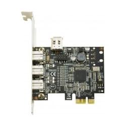 No Name PCI-E 3 ports Firewire 800 + 1 port 400 (305018 FDV) - Achat / Vente Carte Controleur sur Cybertek.fr - 0