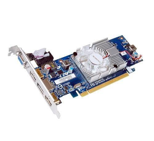 Gigabyte Radeon HD 5450 (GV-R545D2-512D) - Achat / Vente Carte Graphique sur Cybertek.fr - 0