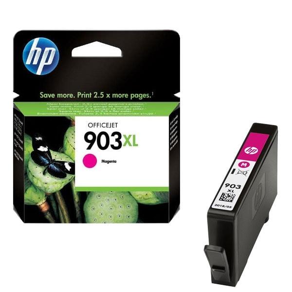 Cartouche Magenta rendement élevé 903XL - T6M07AE pour imprimante  HP - 0