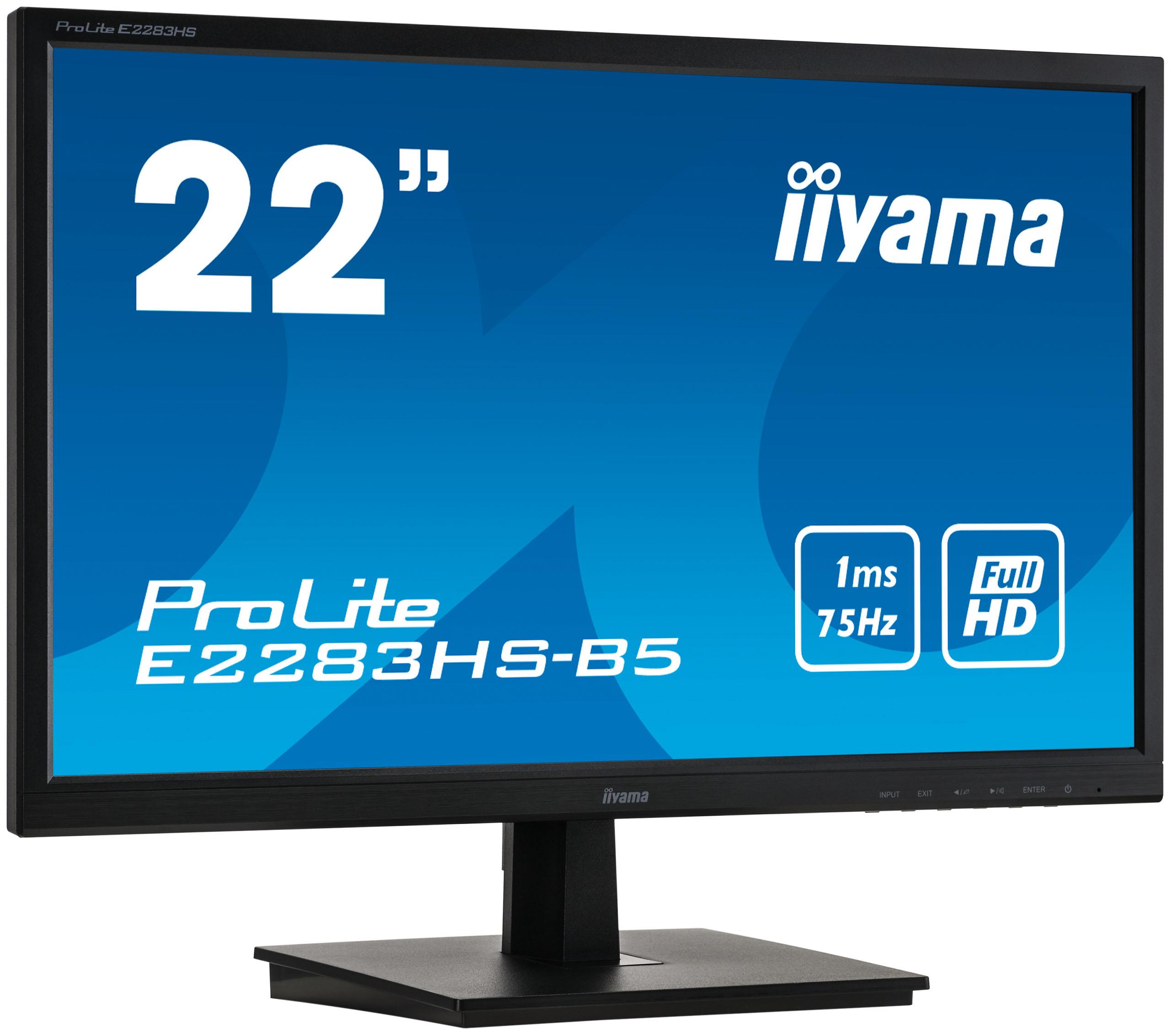 "Iiyama 22""  E2283HS-B5 -- - Ecran PC Iiyama - Cybertek.fr - 3"