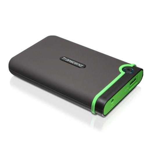 Transcend StoreJet 2.5 500GB USB3.0 Shockproof TS500GSJ25M3 (TS500GSJ25M3) - Achat / Vente Disque dur Externe sur Cybertek.fr - 0