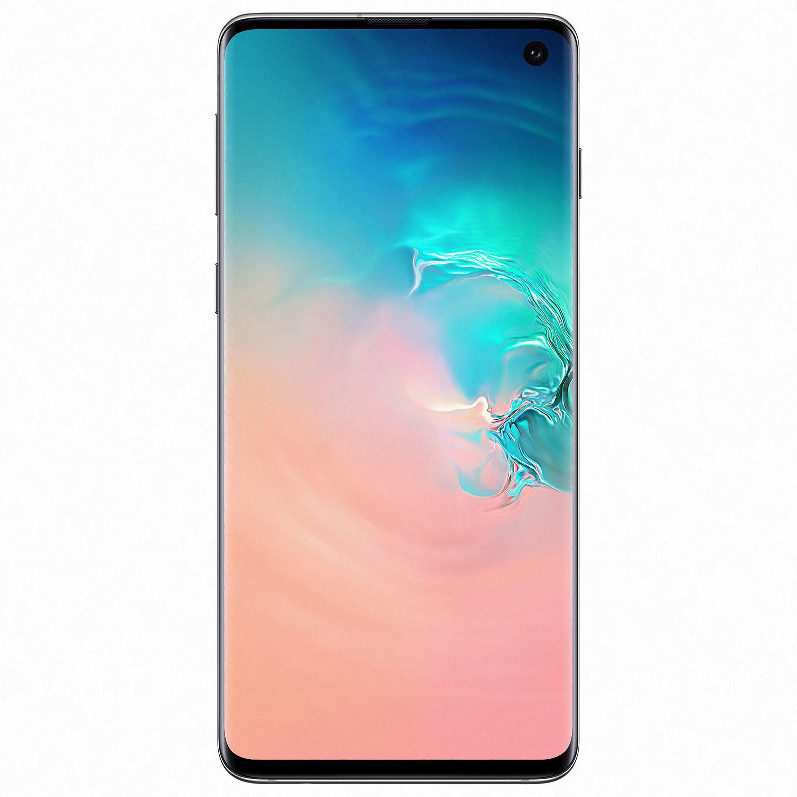Samsung Galaxy S10 G973 128Go White - Téléphonie Samsung - 0