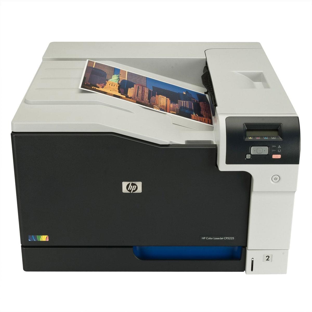 HP LaserJet Color CP5225 (Laser Couleur A3) (CE710A#B19) - Achat / Vente Imprimante sur Cybertek.fr - 0