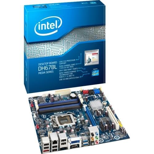 Intel DH67BL (BOXDH67BLB3) - Achat / Vente Carte Mère sur Cybertek.fr - 0