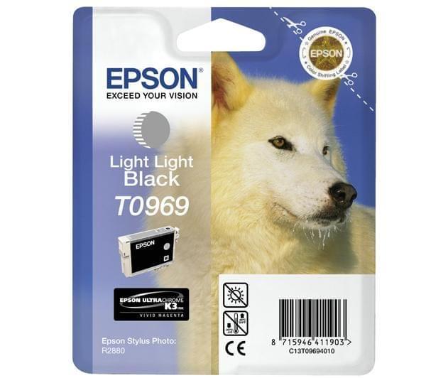 Epson Cartouche d'encre Gris clair T0969 (C13T09694010) - Achat / Vente Consommable Imprimante sur Cybertek.fr - 0
