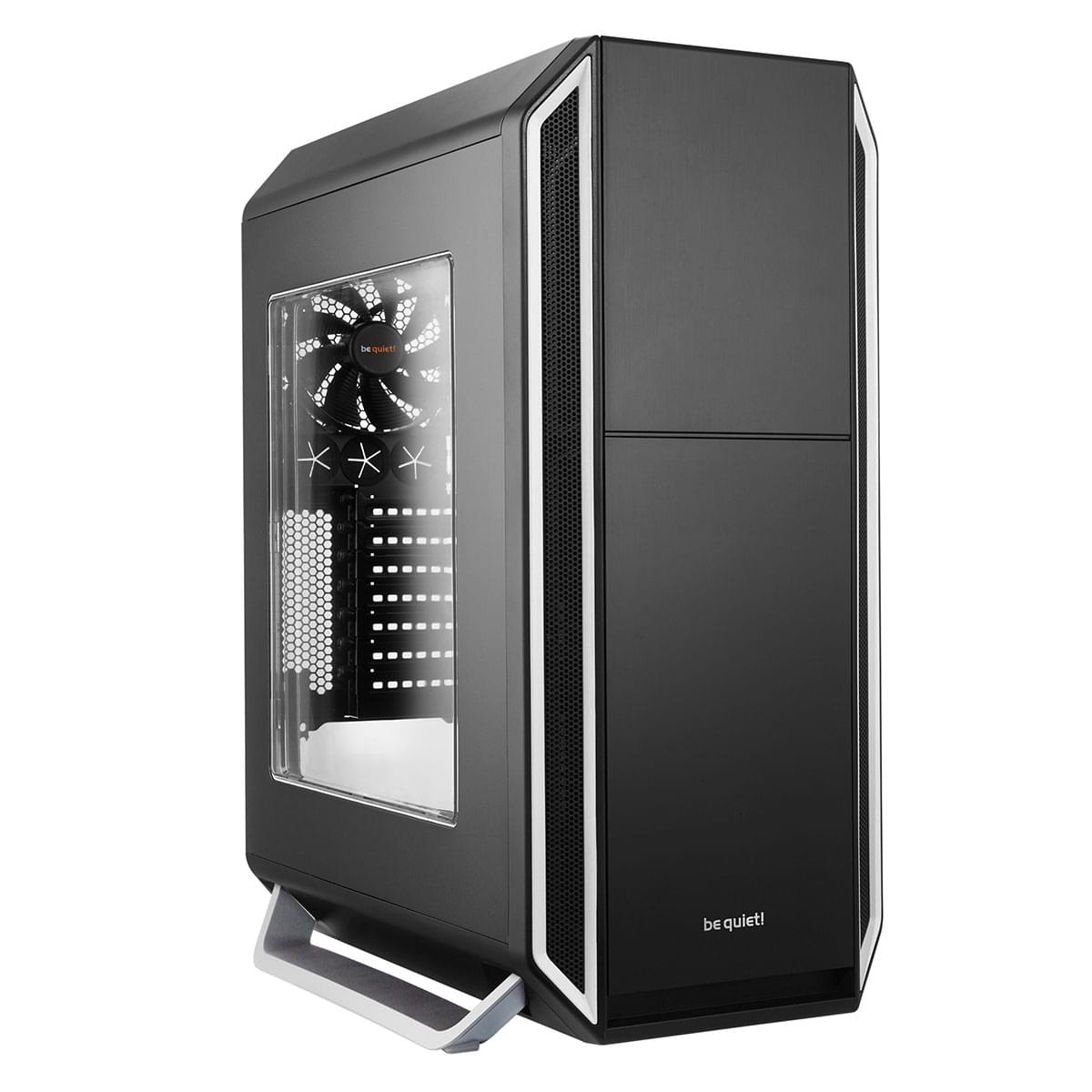 Be Quiet! Silent Base 800 Silver Window - Boîtier PC Aluminium - Sans Alim - 0