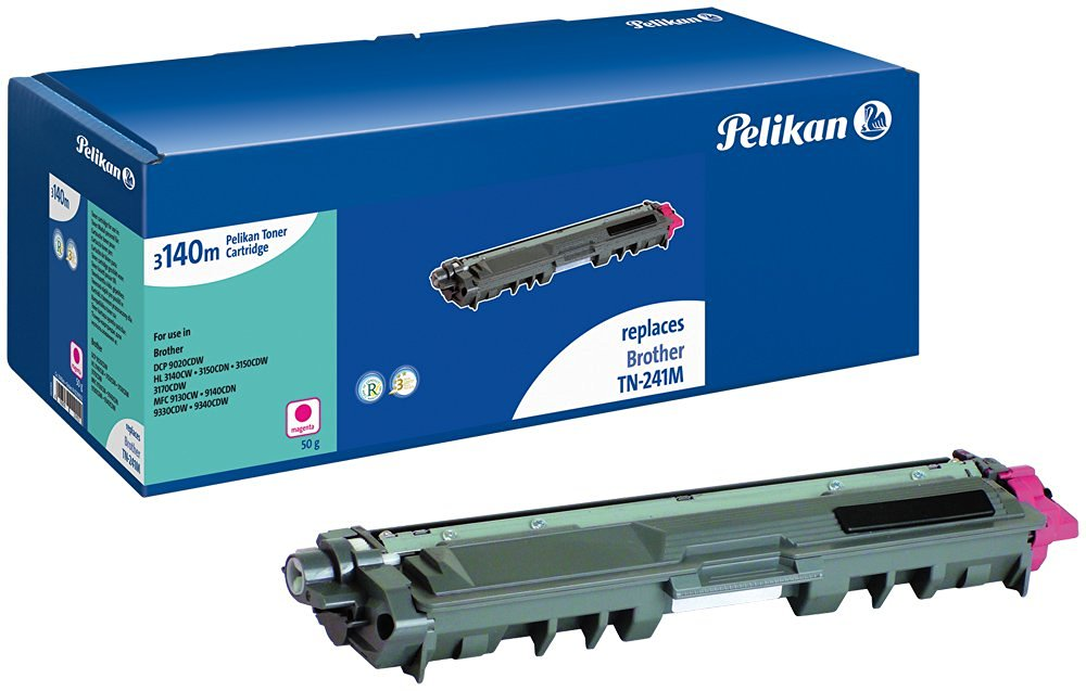 Toner compatible Brother (TN241M) - 4229922 pour imprimante Laser Pelikan - 0