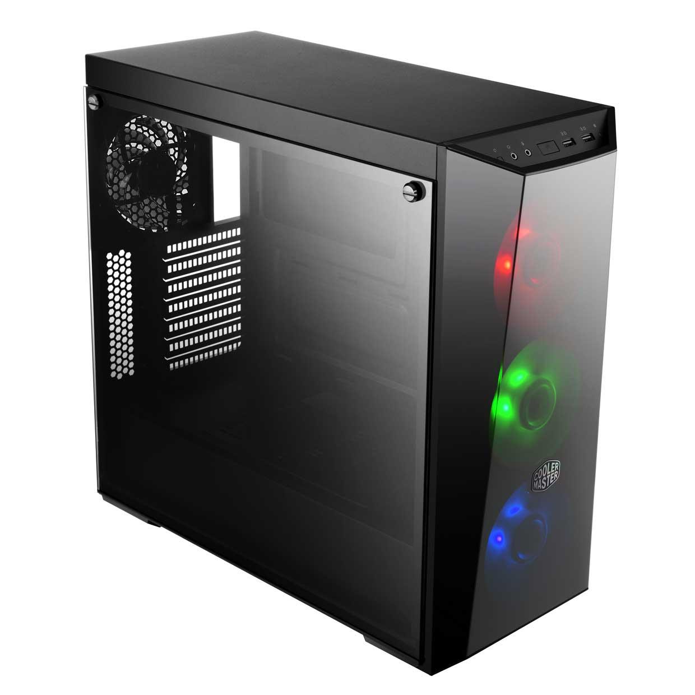Cooler Master MasterBox Lite 5 RGB MCW-L5S3-KGNN-02 Noir - Boîtier PC - 1