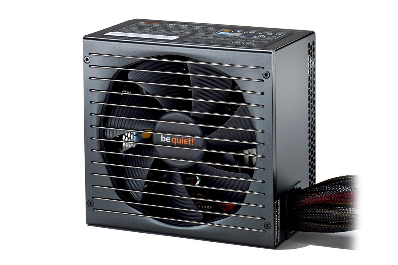 Alimentation PC Be Quiet! ATX 800W Straight Power E10 CM 80+ GOLD BN237 - 0