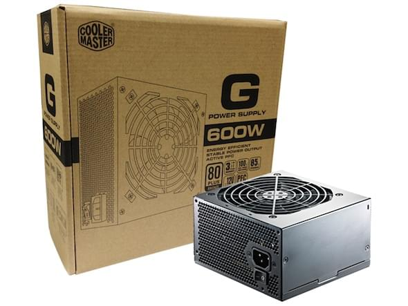 Alimentation PC Cooler Master ATX 600 Watts G 600W 80+ Bronze RS600-ACAA-B1 - 0