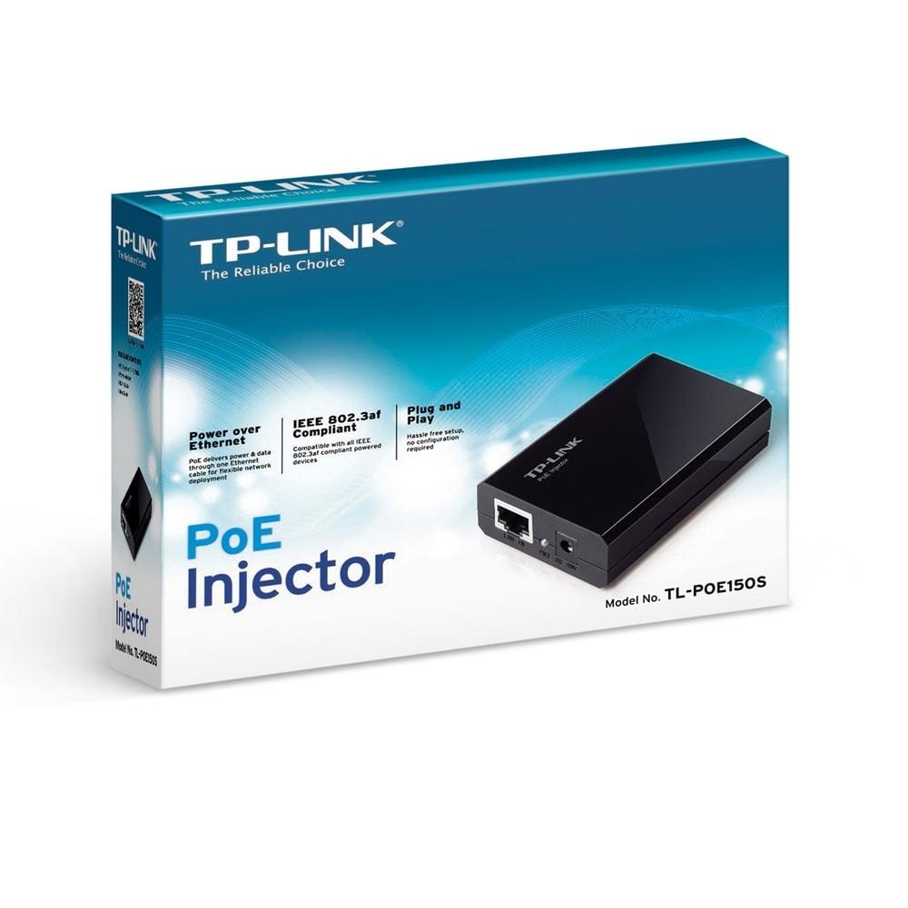 TP-Link Injecteur PoE TL-POE150S (TL-POE150S) - Achat / Vente Réseau divers sur Cybertek.fr - 4