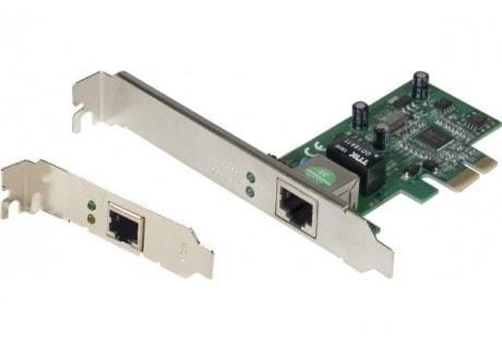Netis PCI-E AD1103 10/100/1000 équerre LP /Stdrd. - Carte réseau - 0