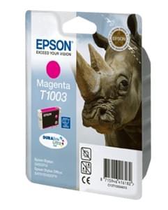 Epson Cartouche DURABRITE T1003 Magenta (C13T10034010) - Achat / Vente Consommable Imprimante sur Cybertek.fr - 0