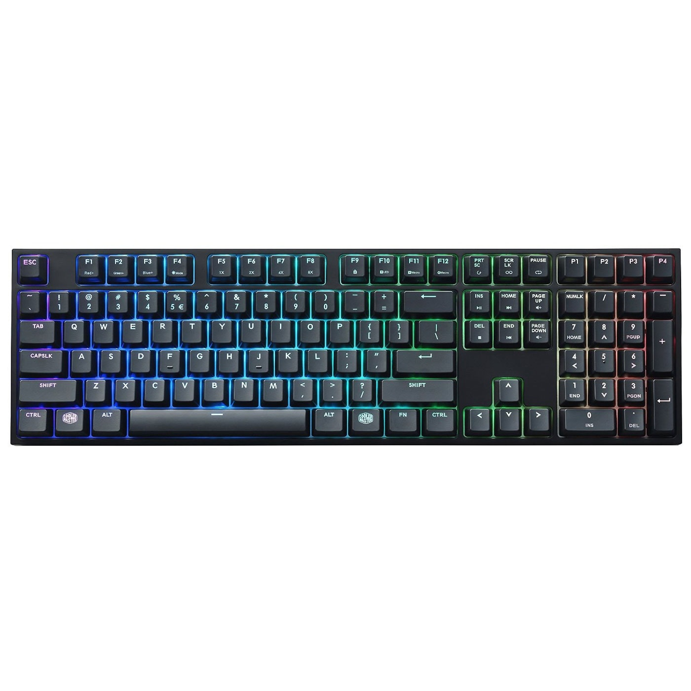 Cooler Master MasterKeys PRO L RGB MX RED - Clavier PC - 2