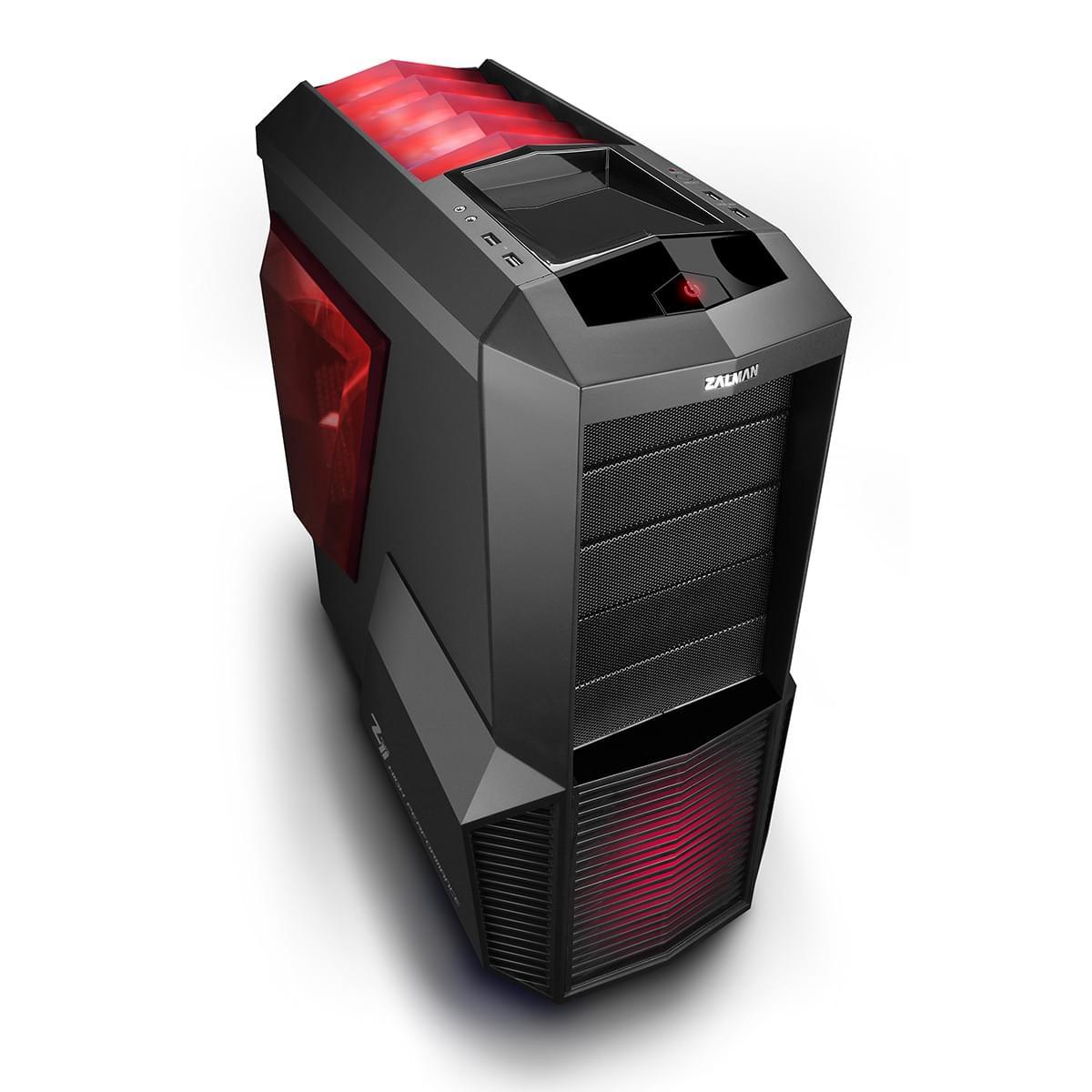 Zalman Z11 Plus HF1 (Z11 PLUS HF1) - Achat / Vente Boîtier PC sur Cybertek.fr - 0
