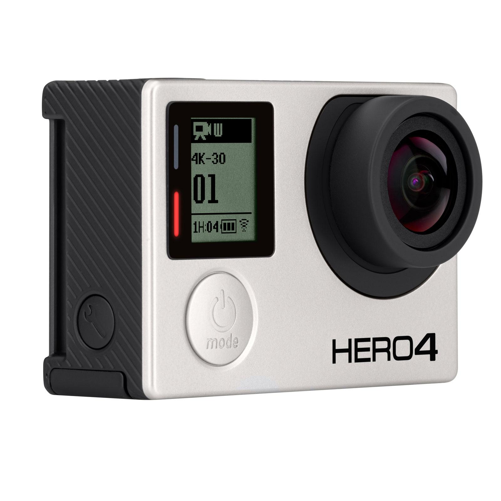 GoPro HERO4 Black (4K Ultra HD) (CABAH4) - Achat / Vente Caméra / Webcam sur Cybertek.fr - 0