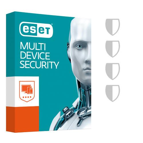 ESET Multi-Device Security 2018 - 1 An / 5 Appareils - Logiciel sécurité - 0