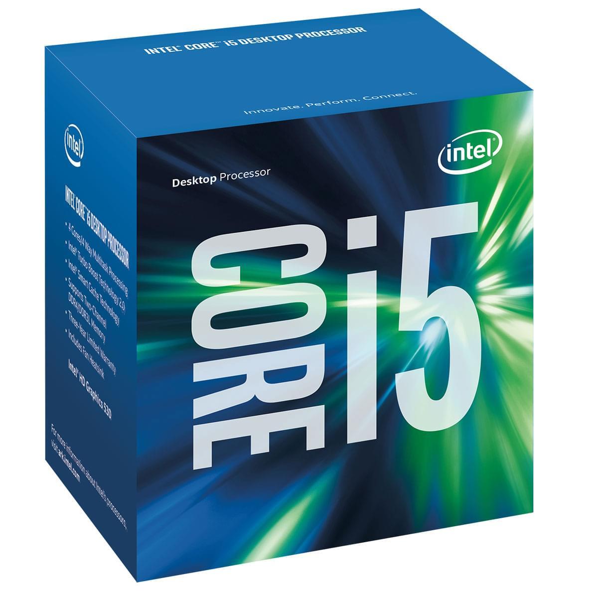Intel Core i5 6500 - 3.2GHz - Processeur Intel - Cybertek.fr - 0