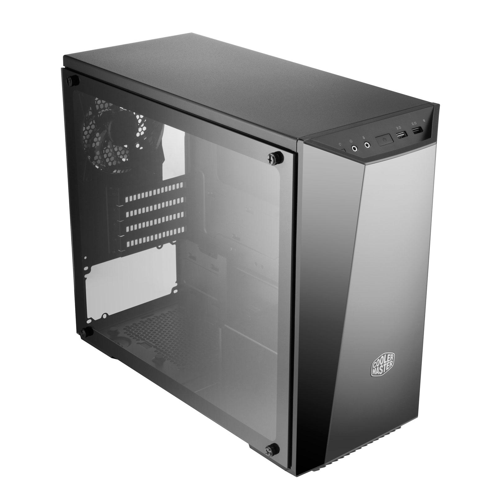 Cooler Master MasterBox Lite 3.1 TG MCW-L3S3-KGNN-00 -mT/Ss Alim Noir - Boîtier PC - 4