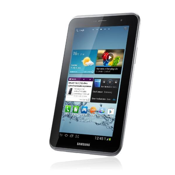 Samsung Galaxy Tab 2 P3110TSAXEF (GT-P3110TSAXEF obso) - Achat / Vente Tablette tactile sur Cybertek.fr - 0
