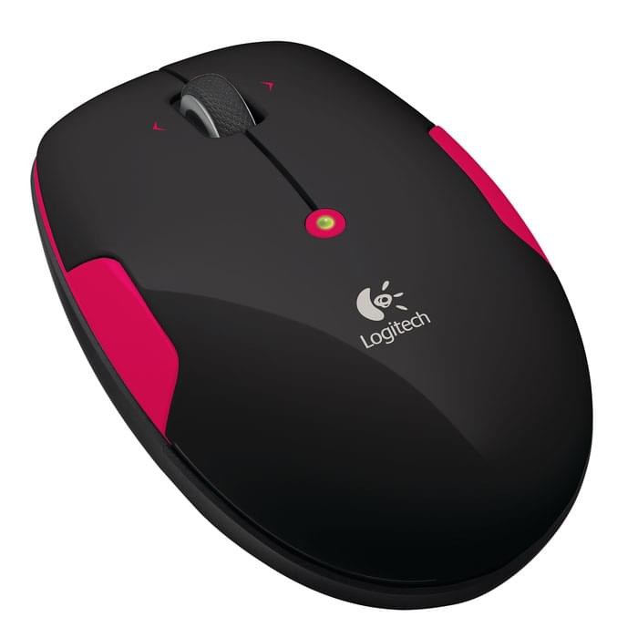 Logitech Souris PC Wireless Mouse M345 Fire Red - 0