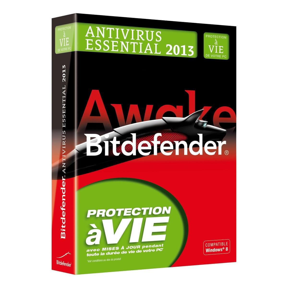 Bitdefender Essential 2013 (B-FBDAVE3WIP001) - Achat / Vente Logiciel sécurité sur Cybertek.fr - 0