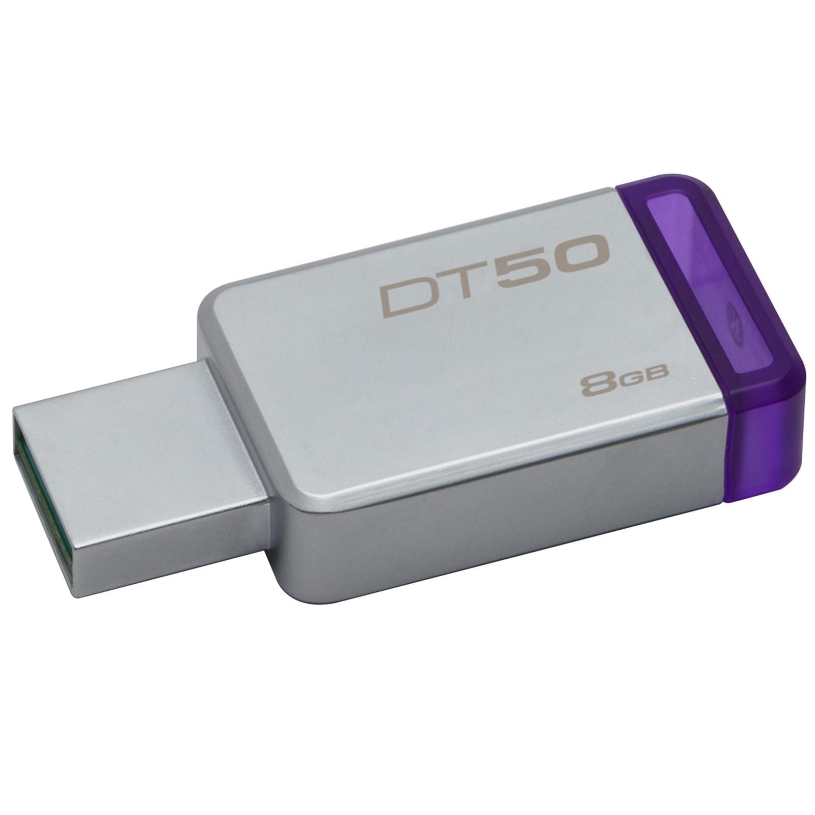 Kingston DataTraveler 50 8Go USB 3.1 (DT50/8GB) - Achat / Vente Clé USB sur Cybertek.fr - 0