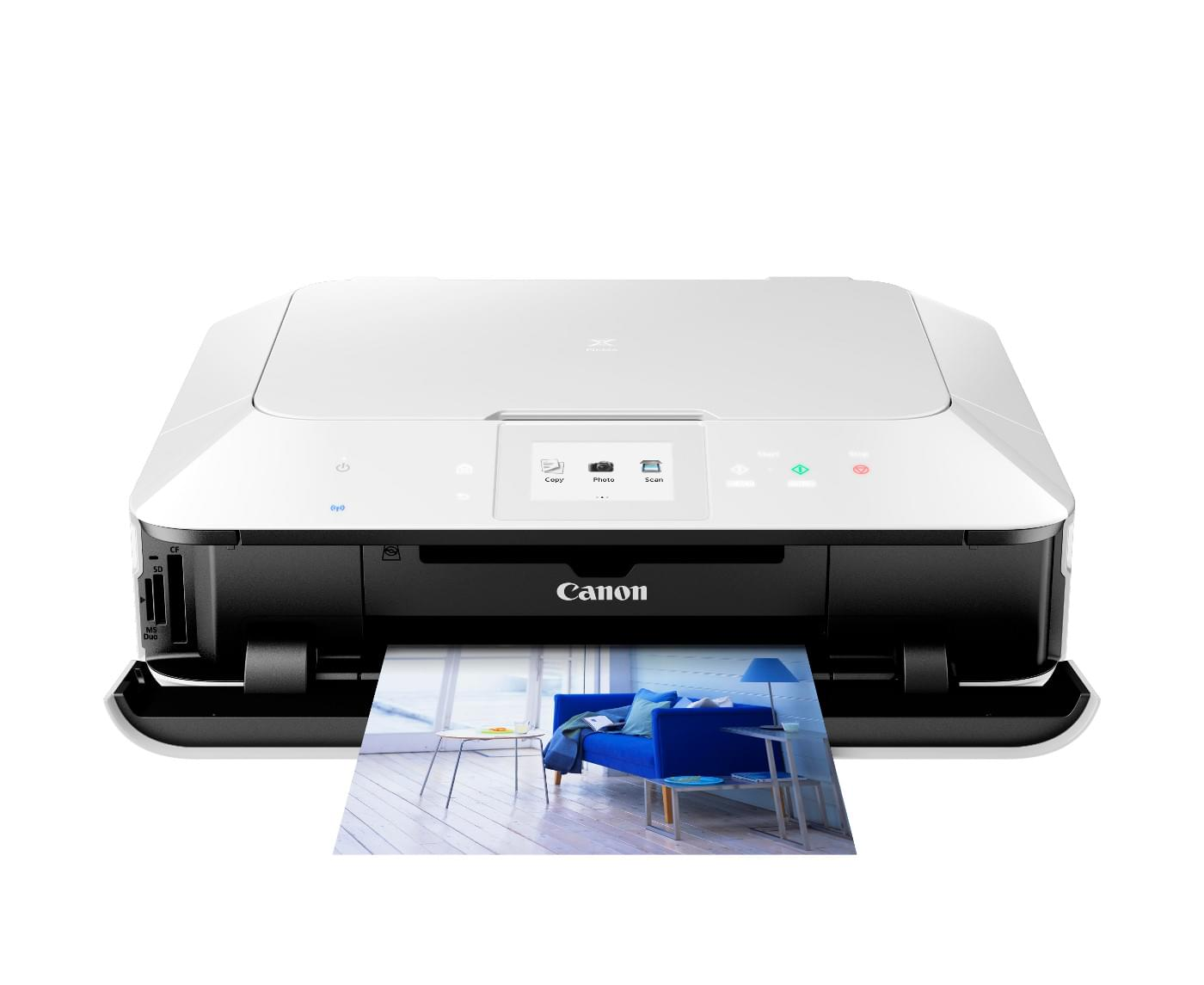 Imprimante multifonction Canon PIXMA MG6350 Blanche - Cybertek.fr - 0