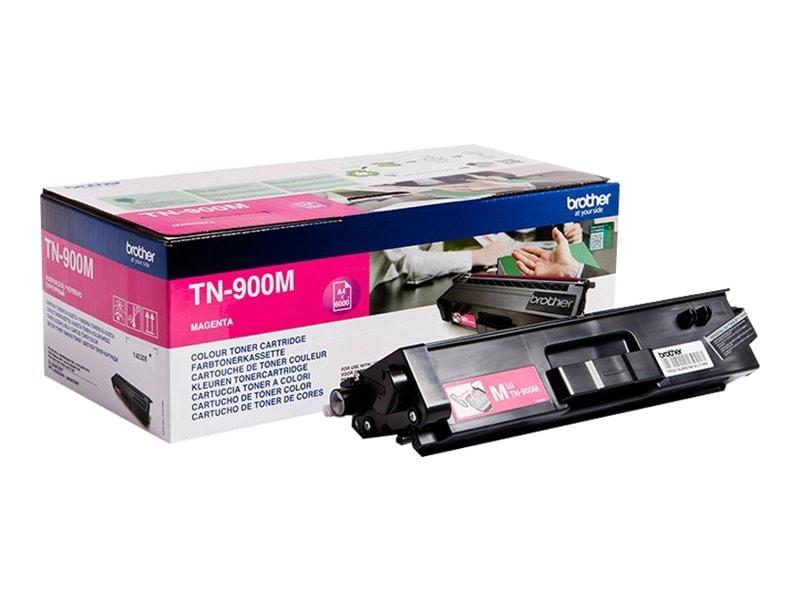 Toner Magenta Très haute capacité - TN-900M pour imprimante  Brother - 0
